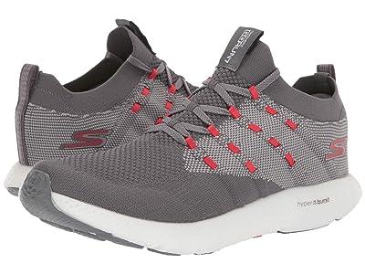 SKECHERS Go Run 7 (Charcoal Red) Men