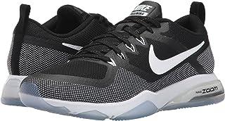 (ナイキ) NIKE レディースランニングシューズ?スニーカー?靴 Zoom Training Fitness Black/White 7.5 (24.5cm) B - Medium