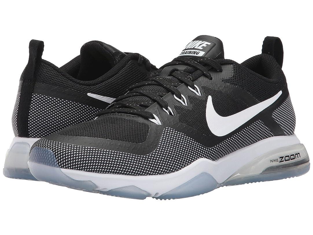 正規化飼料スチュワード(ナイキ) NIKE レディースランニングシューズ?スニーカー?靴 Zoom Training Fitness Black/White 11.5 (28.5cm) B - Medium