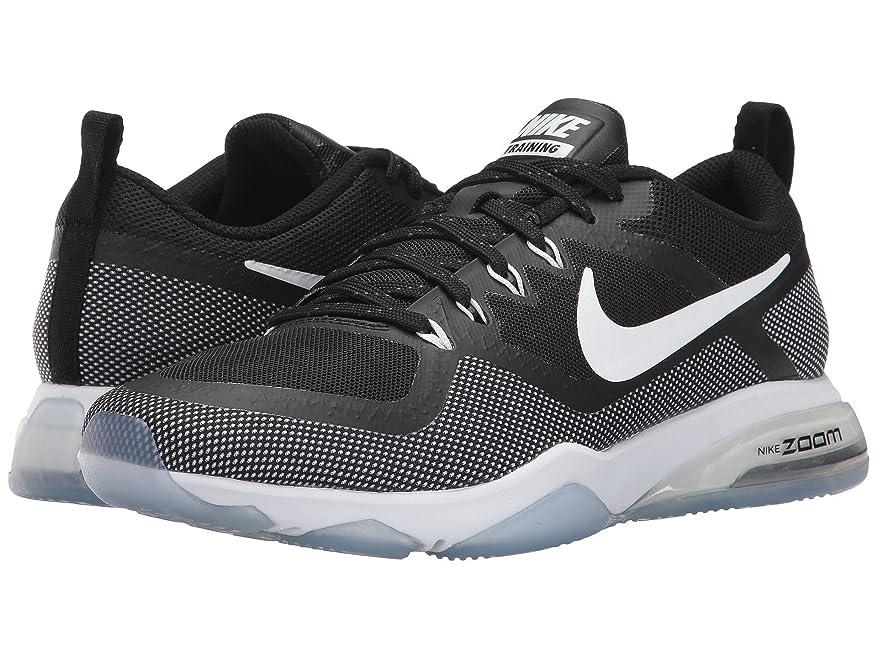 高音把握に同意する(ナイキ) NIKE レディースランニングシューズ?スニーカー?靴 Zoom Training Fitness Black/White 10.5 (27.5cm) B - Medium