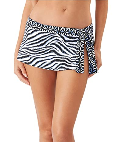 Tommy Bahama Zanzibar Zebra Side Tie Skirt Bottoms