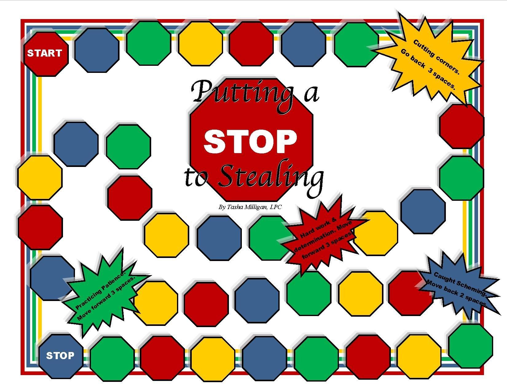 Putting a Stop to Stealing, CBT Juego de Asesoramiento: Amazon.es: Juguetes y juegos