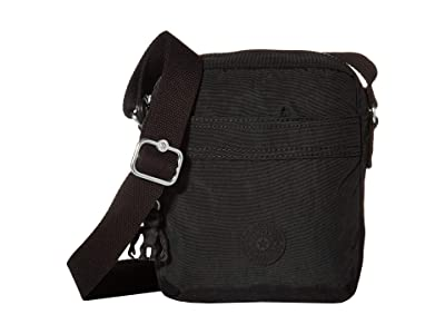 Kipling Hisa Crossbody Bag (Black Noir) Handbags
