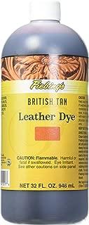 Best fiebings leather dye british tan Reviews