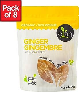 ELAN Organic Ginger Chunks 8 Pack, 49.6 Oz