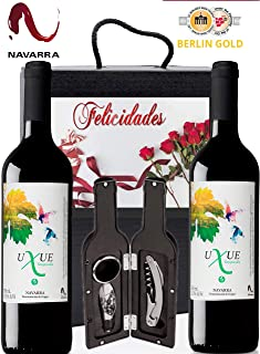 Amazon.es: vino tinto estuche regalo