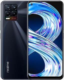"""realme 8 Smartphone Libre, Cámara cuádruple con IA de 64MP, Pantalla completa AMOLED superior de 6,4"""", Carga Dart de 30W, ..."""