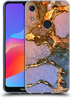 Official Monika Strigel Sunrise Gemstone and Gold Soft Gel Case Compatible for Huawei Honor 8A