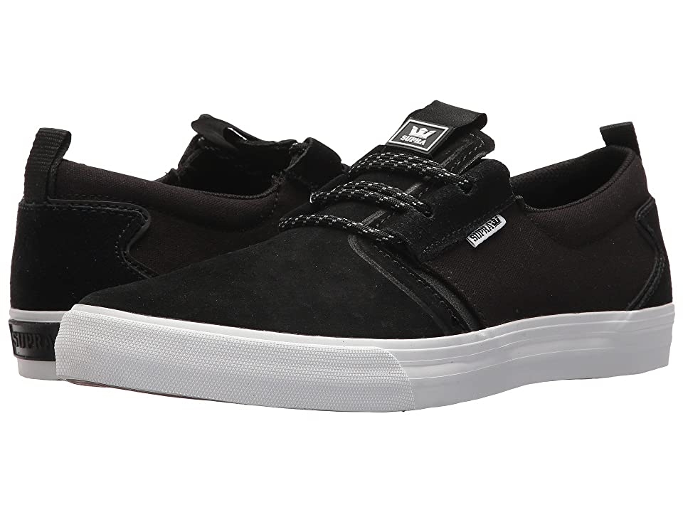 Supra Flow (Black/Black/White) Men