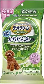 デオクリーン からだふきシート 小型犬用 香り付き 28枚×3個