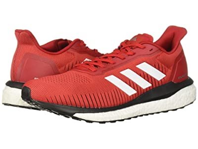 adidas Running Solar Drive 19 (Scarlet/Footwear White/Core Black) Men