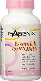 Isagenix Essentials for Women - 120 Capsules