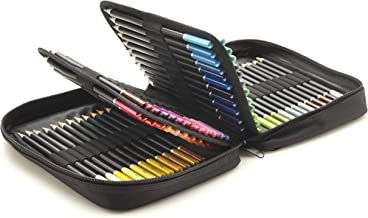 Castle Art Supplies 72 Colored Pencils Zip-Up Set - Easy Zipper Case to Store and Protect Your Coloring Pencils