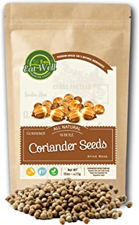 Sponsored Ad - Eat Well Premium Foods - Coriander Seeds Whole 16 oz Reseable Bag ,100% Natural, Freshly Packed