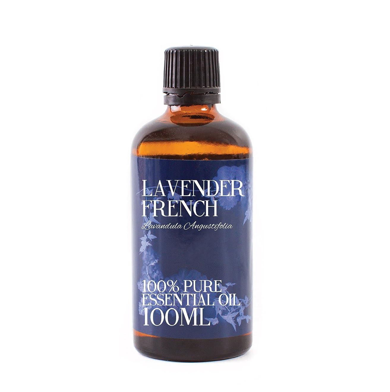 混雑模倣代わりのMystic Moments | Lavender French Essential Oil - 100ml - 100% Pure