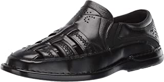Stacy Adams Mens Apollo Closed-Toe Fisherman Slip-on Sandal