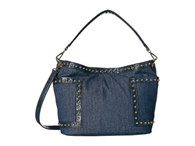 Steve Madden Bbradly (Blue) Hobo Handbags