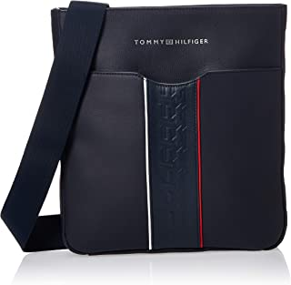 تومي هيلفيغر حقيبة جلد للنساء-زهري - حقائب المراسلين