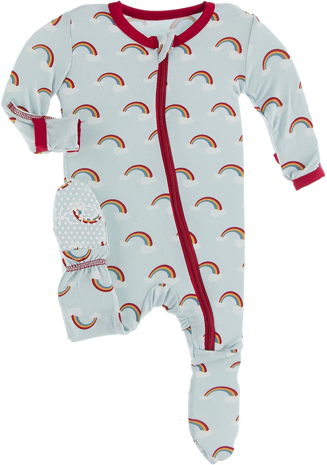 KicKee Pants Welcome Home Footie with or store One-Pi Girl Boy Zipper Phoenix Mall