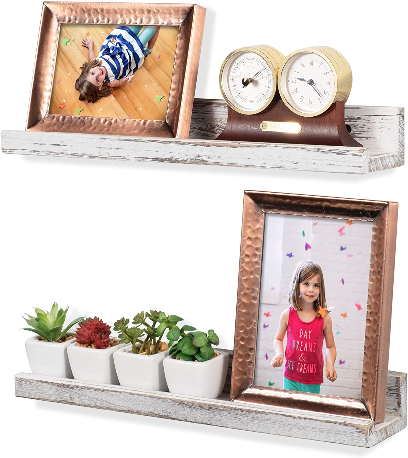Rustic State Max 67% OFF Ted Wall Mount Ledge Narrow Shelf Display Finally resale start Picture
