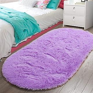LOCHAS Luxury Velvet Fluffy Carpet Soft Children Rugs Room Mat Modern Shaggy Area Rug for..