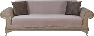 Chiara Rose Couch Covers for Dogs Sofa Cushion Slipcover 3 Seater Furniture Protectors Futon Cover, Sofa, Diamond Camel