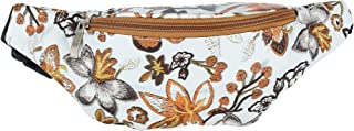 2 Moda Floral Canvas Waist Pack