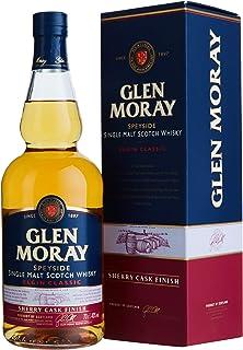 Glen Moray Elgin Classic Single Malt Sherry Cask Finish Whisky mit Geschenkverpackung 1 x 0.7 l, 16374