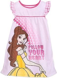Disney Belle Pink Nightshirt for Girls Multi
