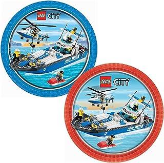 LEGO City Dessert Plates Party Accessory