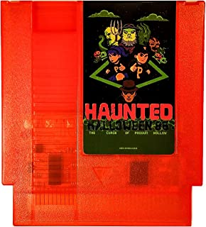 Haunted: Halloween '86 (The Curse of Possum Hollow) NES Nintendo Game Homebrew Complete in Box (Pumpkin Orange Cartridge)