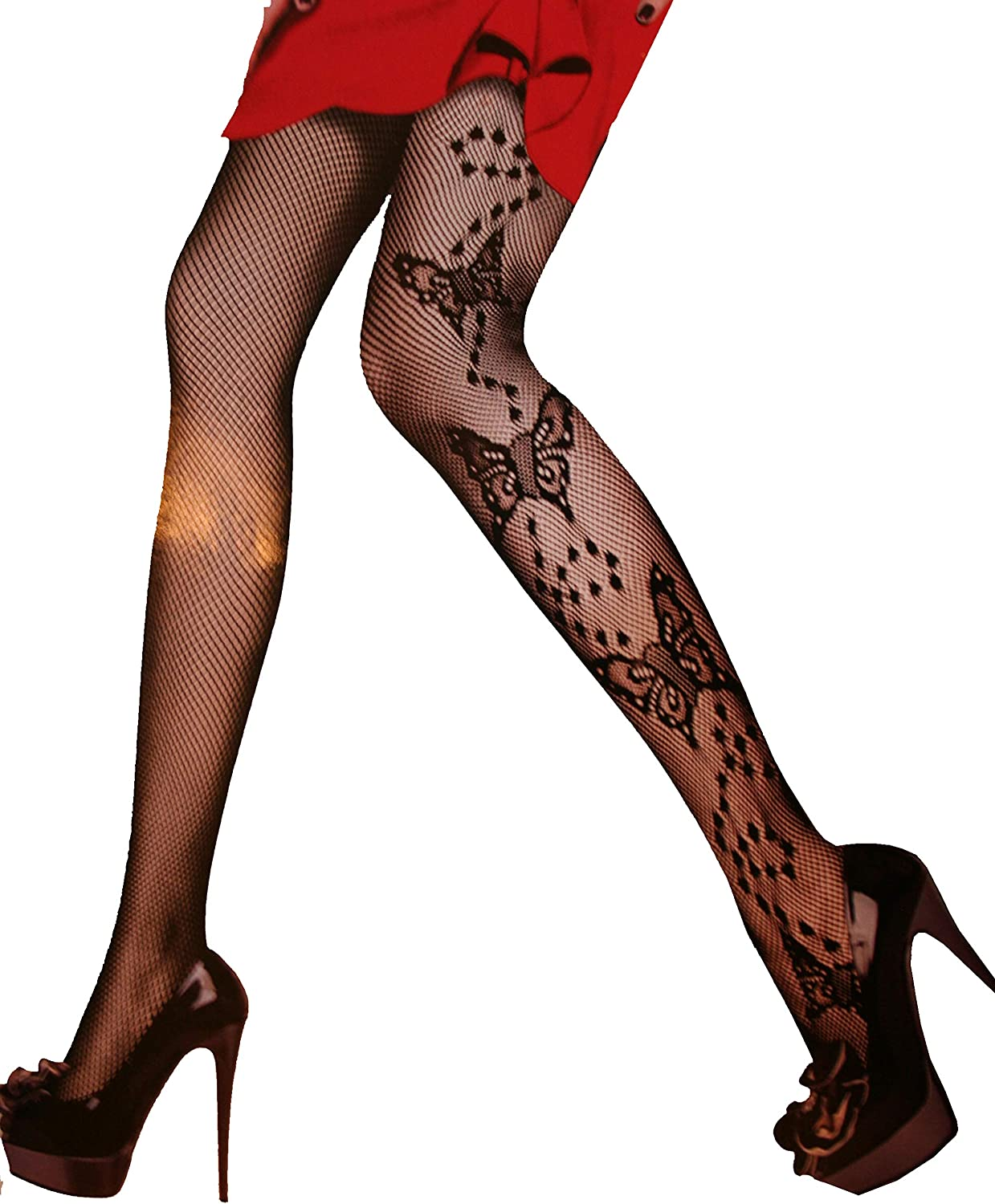 Women Sexy stockings fishnet Patterned Tights Pantyhose (type 2)