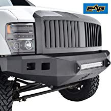 EAG Replacement Front Hood Grille Full ABS Upper Grill Fit for 08-10 Ford F250/F350/F450 Super Duty
