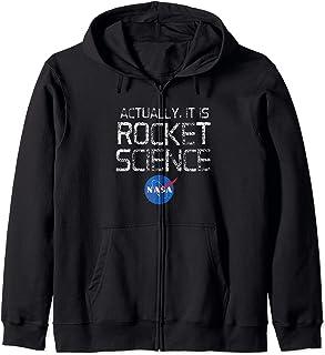 Actually It Is Rocket Science - NASA Felpa con Cappuccio