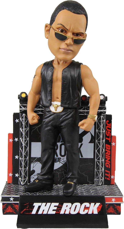 WWE The Rock Attitude Character Bobblehead
