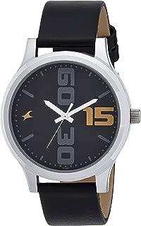 Bold Analog Black Dial Men's Watch-38051SL04