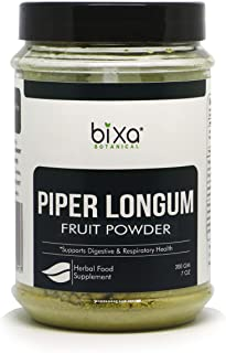 Sponsored Ad - Piper Longum Powder (Pippali) – 200g (7 Oz) | an Ideal Alterative & Respiratory Tonic, Ayurvedic Herbal Sup...