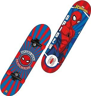 """""""Mondo Toys - Skateboard Spiderman - ruote PVC - 9 strati board - 80 x 20 - 18396"""""""