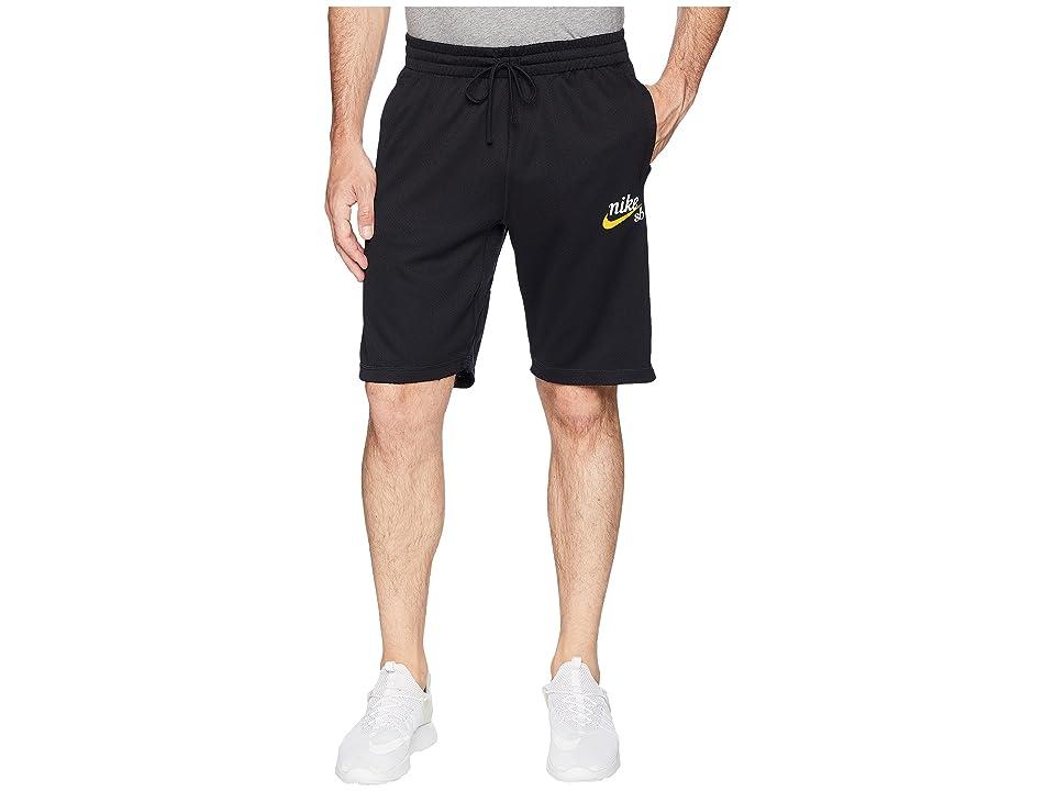 Nike SB SB Dry Sunday Crafty Shorts (Black/White) Men