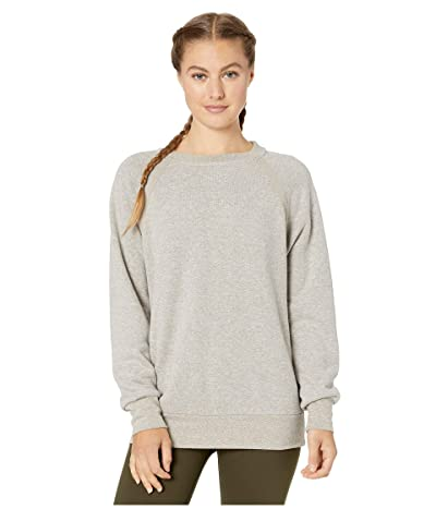 Prana Cozy Up Sweatshirt (Cocoa Heather) Women