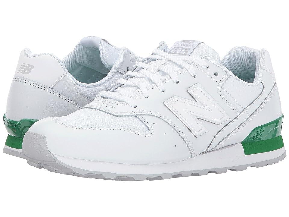 New Balance Classics WL696 (White/Varsity Green) Women