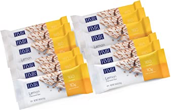 HMR Lemon Flavored Bar with Yogurt Icing, 10g Protein, 160 Cal., 12 Count