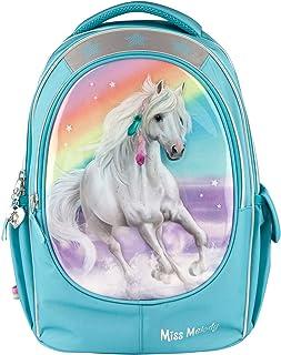 23 x 34 x 44 cm color morado Mochila escolar con purpurina Depesche 10776 Miss Melody