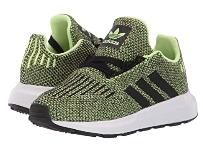 adidas Originals Kids Swift Run I (Toddler) (Grey/Black) Boys Shoes