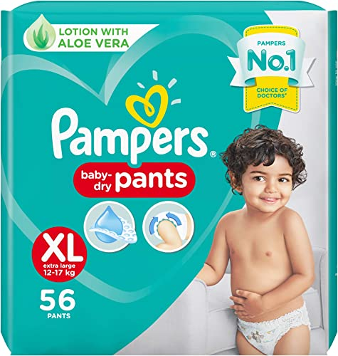 Pampers New Diaper Pants XL 56 Count