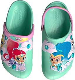 Crocs Kids - Fun Lab Shimmer Shine Lights Clog (Toddler/Little Kid)