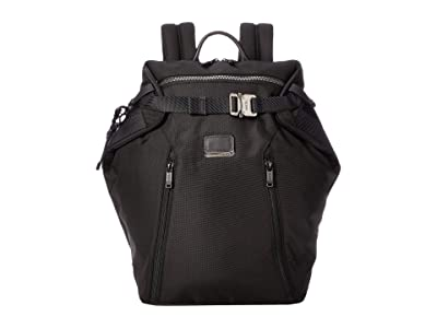 Tumi Alpha Bravo Grant Backpack (Black) Backpack Bags