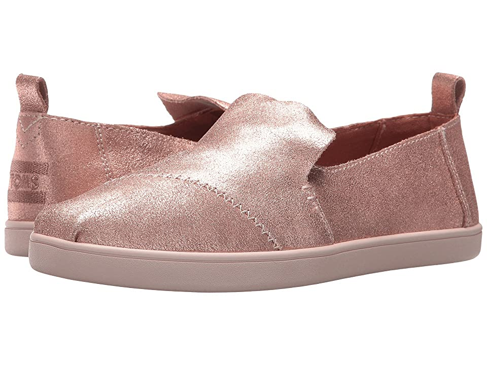 TOMS Deconstructed Alpargata (Rose Gold Metallic Leather) Women