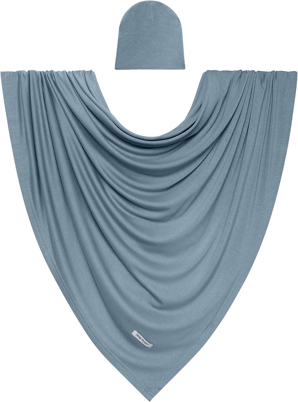 Posh Peanut Unisex Baby Swaddle Blanket Knit - Premium Max New product! New type 77% OFF Large Vis