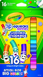 Crayola 58 8703 16 Pip-Squeaks Markers